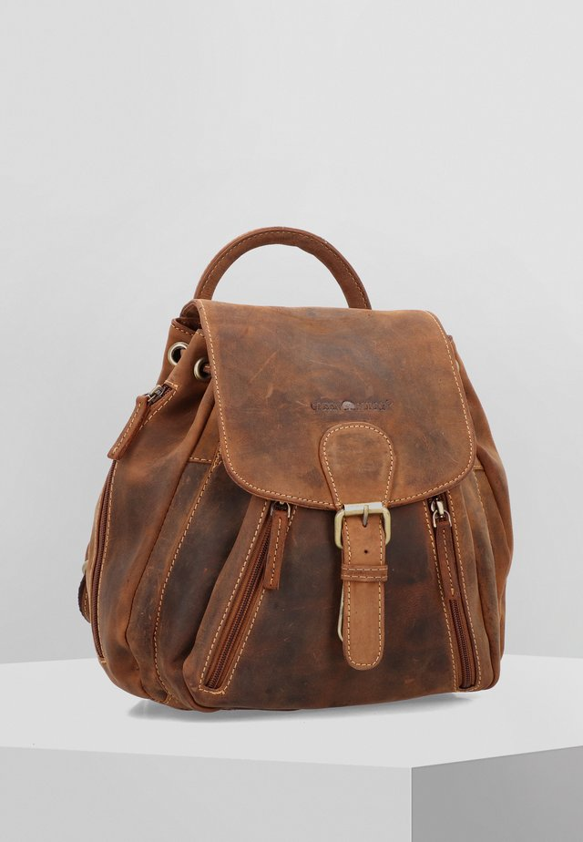 VINTAGE CITY - Tagesrucksack - brown