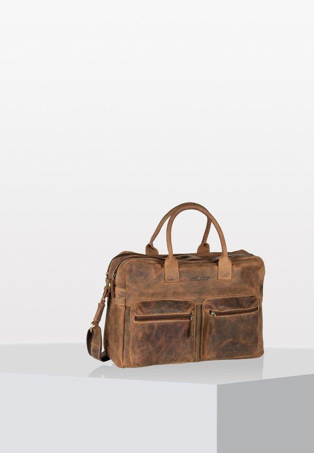 VINTAGE BUSINESS - Laptoptas - brown
