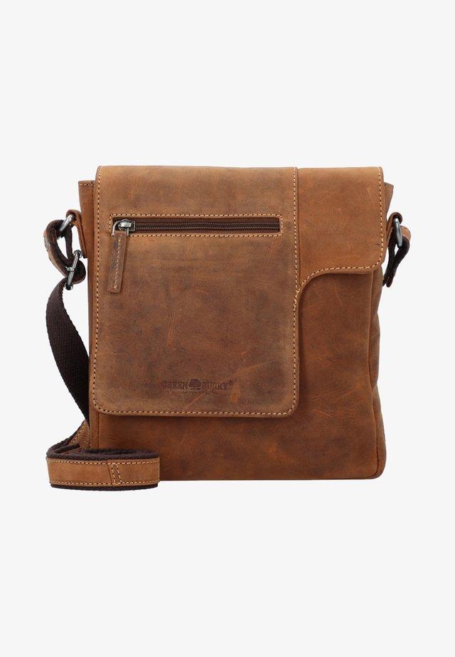 VINTAGE  - Across body bag - vintage brown