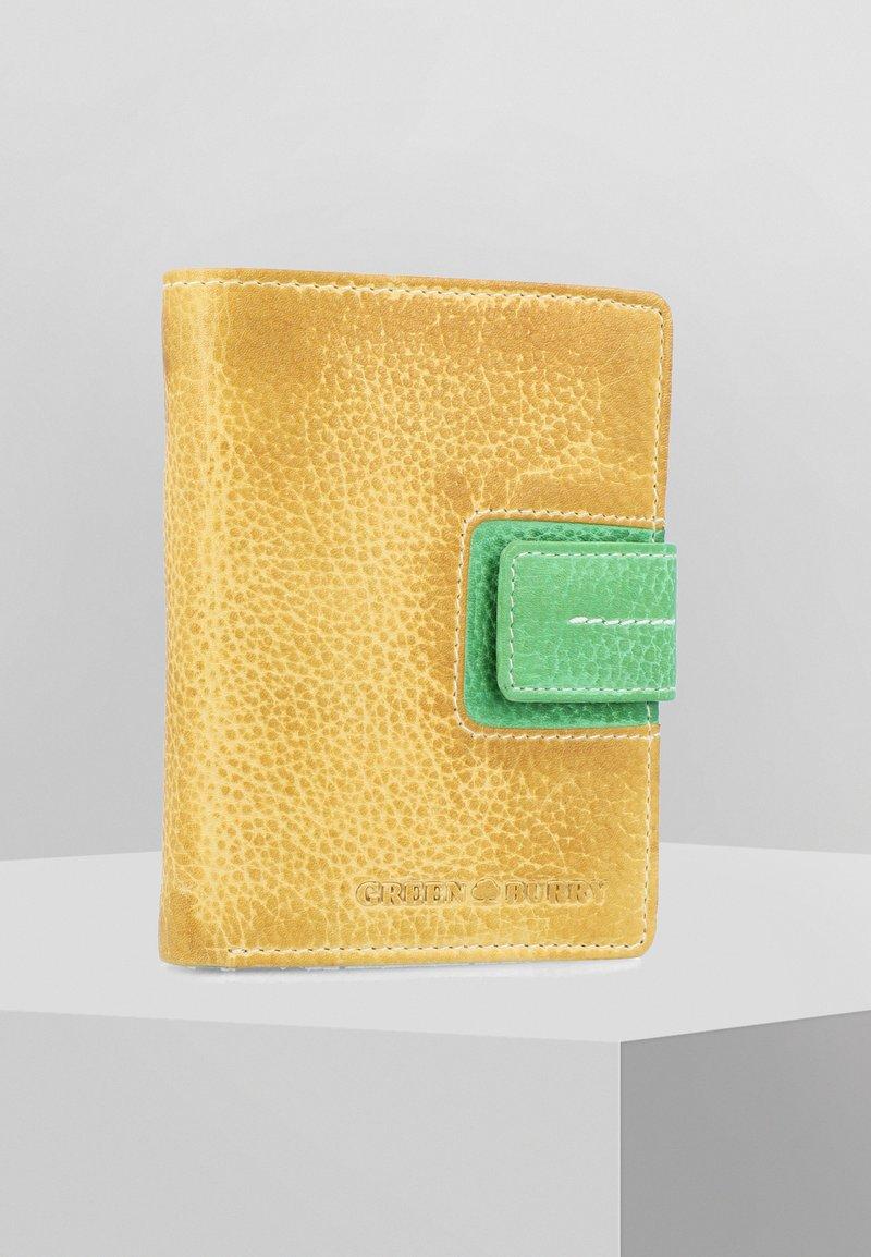 Greenburry - CANDY-SHOP - Geldbörse - yellow/forest