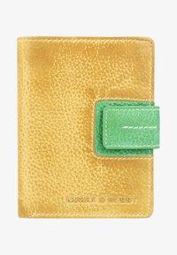 Greenburry - CANDY-SHOP - Geldbörse - yellow/forest - 1