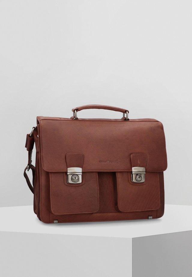 SEMPLICE - Briefcase - brown