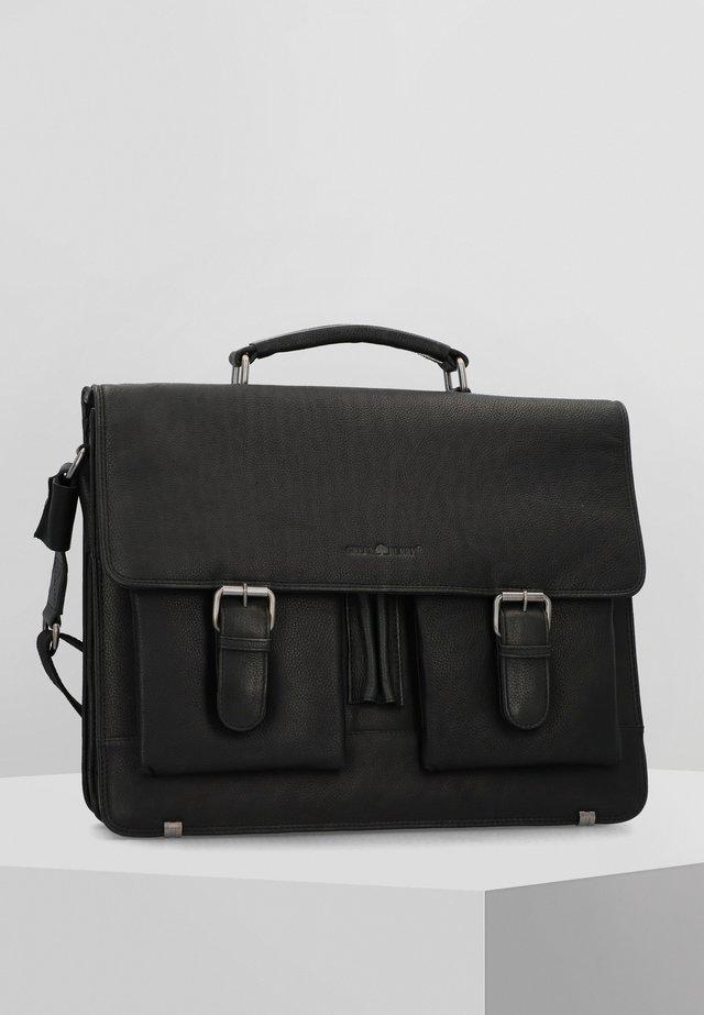 SEMPLICE  - Briefcase - black