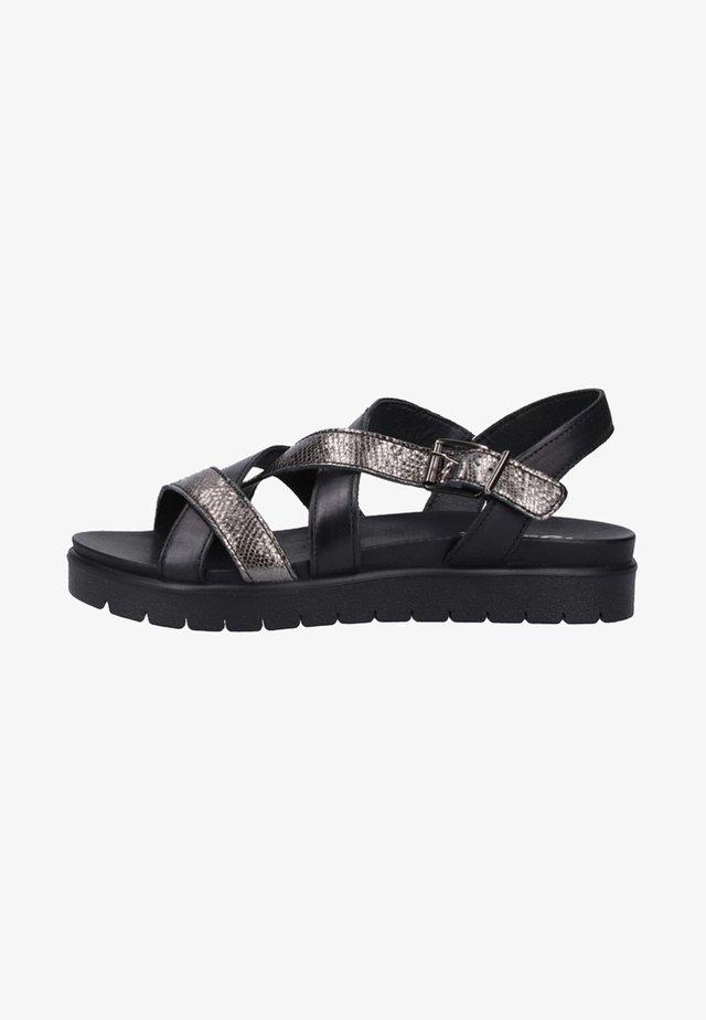 Platform sandals - carbone