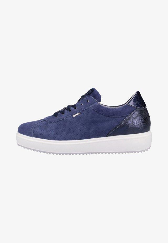 Chaussures de skate - blue