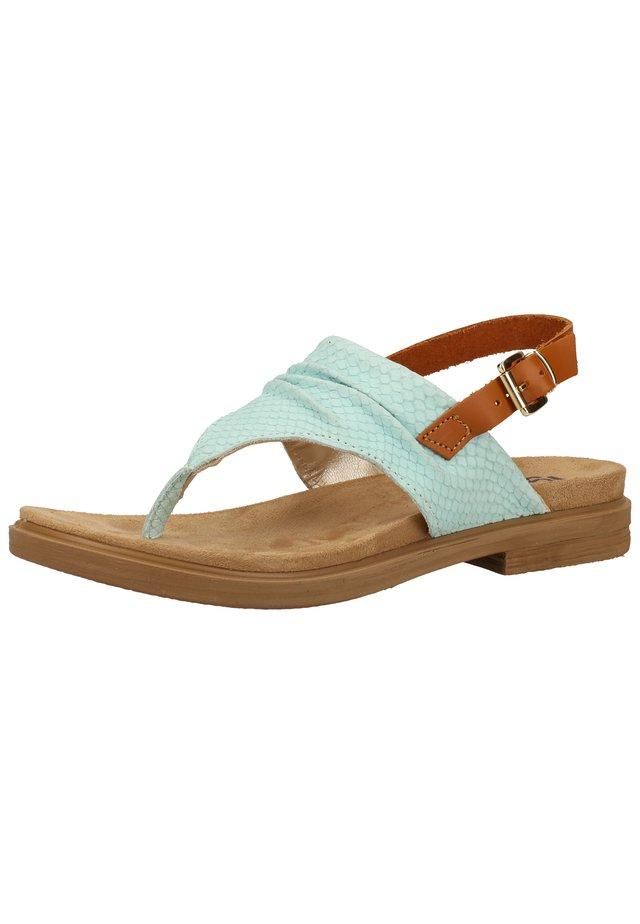 Sandaler m/ tåsplit - marine 00