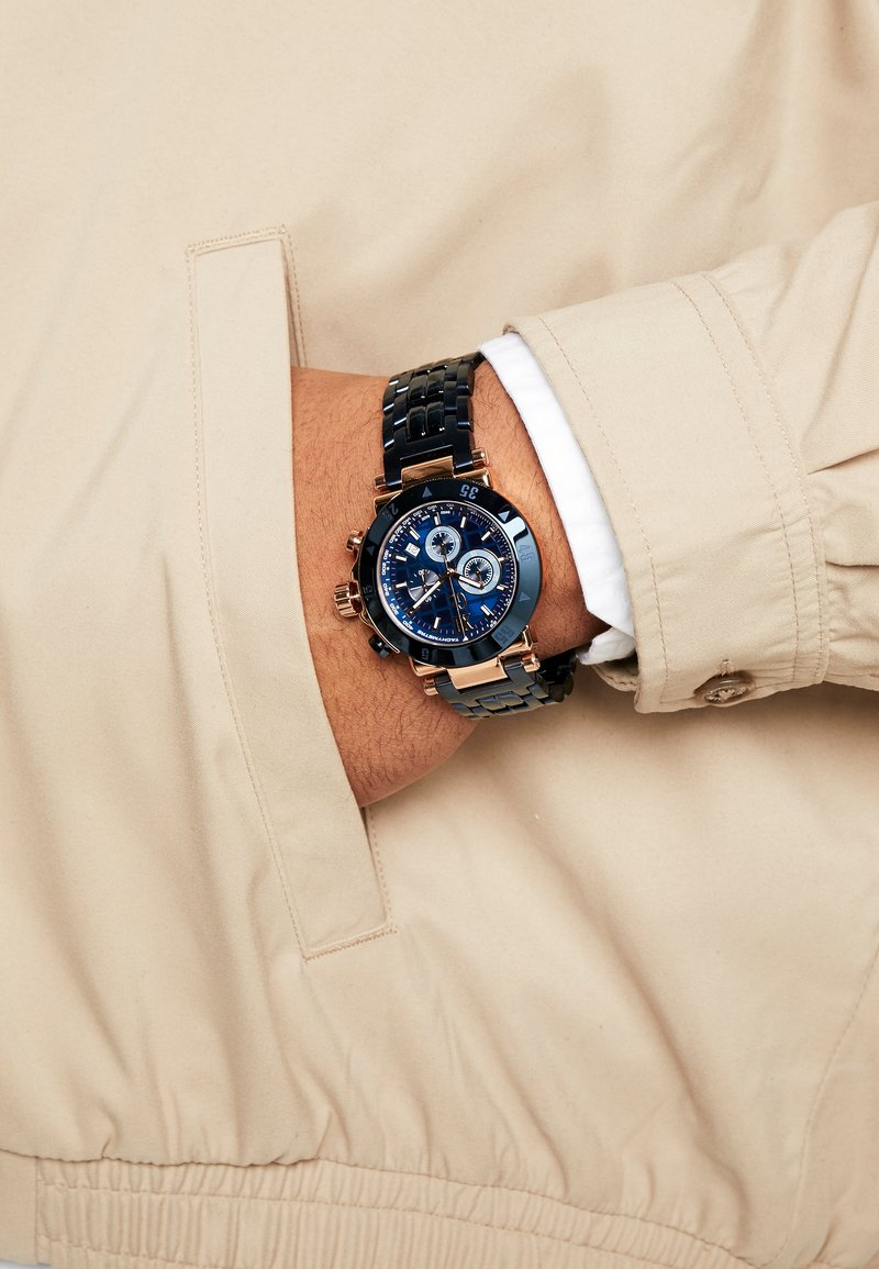 Gc Watches - Chronograph watch - blue/gold