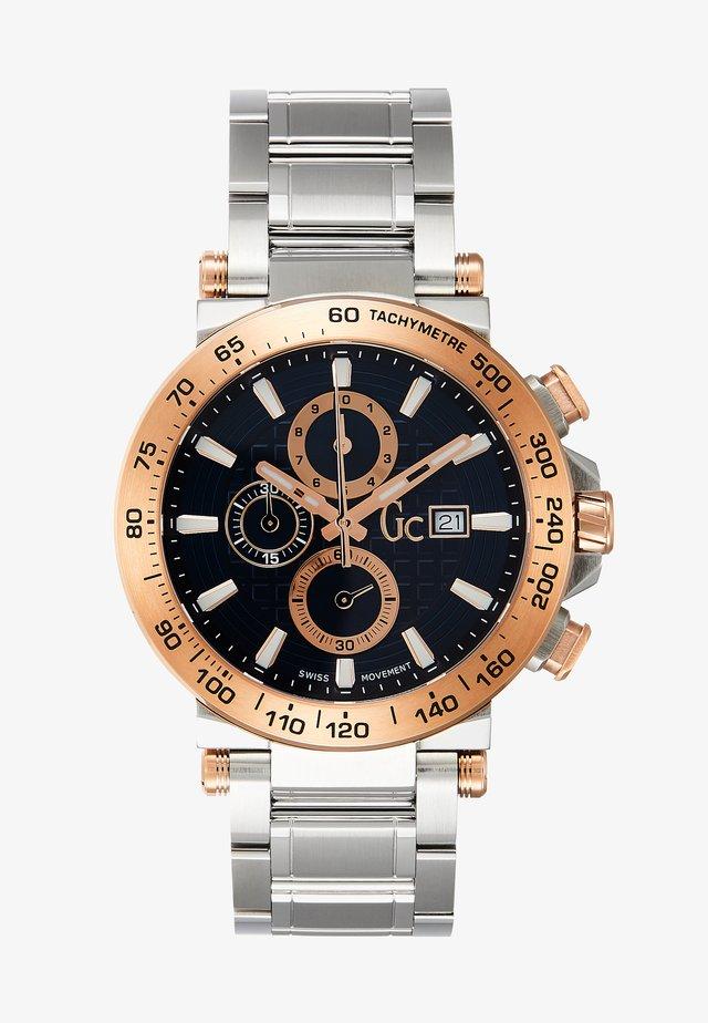 Zegarek chronograficzny - silver-coloured/blue