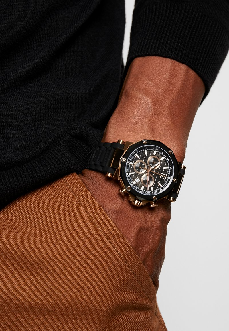 Gc Watches - Chronograph watch - black/gold