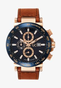Gc Watches - Chronograph watch - gold/blue/brown - 1