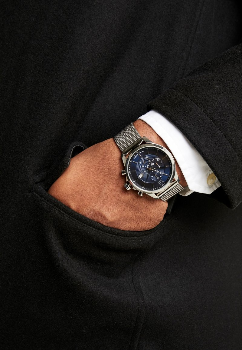 Gc Watches - Chronograph watch - silver/blue