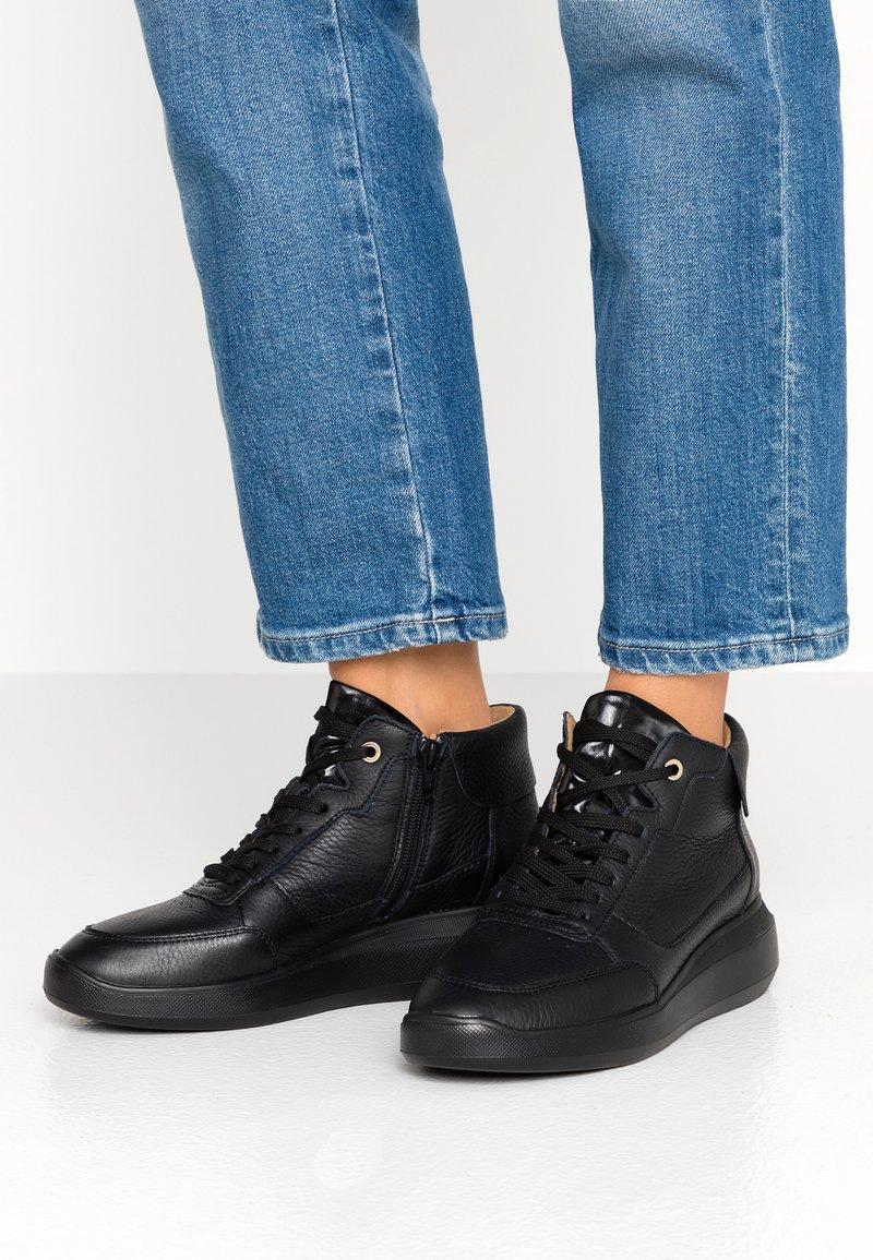 Geox - RUBIDIA - Sneaker high - black