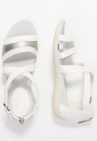 Geox - VEGA - Sandalias - optic white/silver - 3