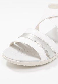 Geox - VEGA - Sandalias - optic white/silver - 2