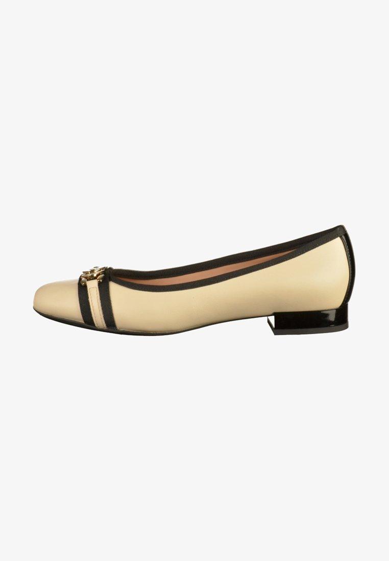 Geox - Ballet pumps - cream/black