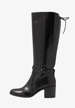 GLYNNA - Høje støvler/ Støvler - black