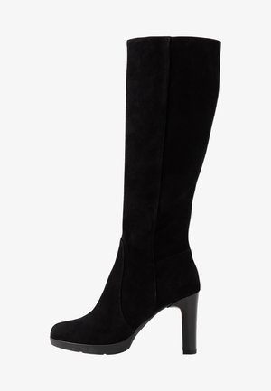ANNYA - High heeled boots - black