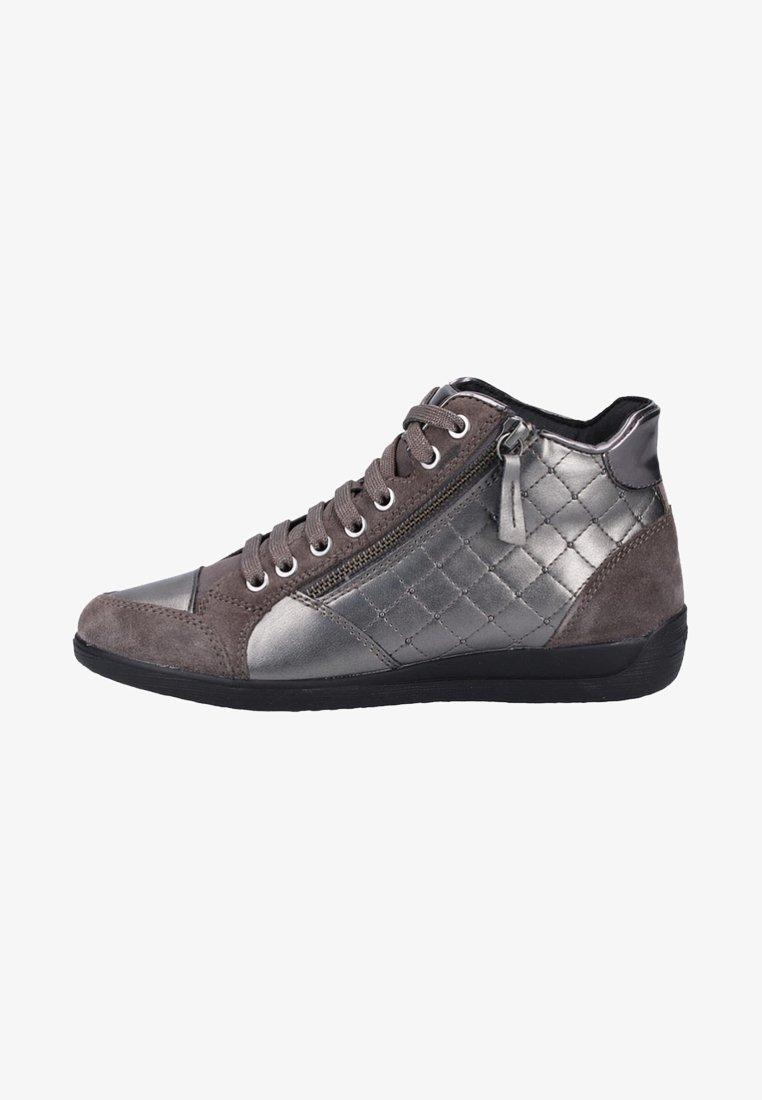 Geox - MYRIA - Sneakers hoog - graphite