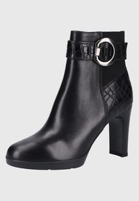 Geox - Bottines à talons hauts - black - 2