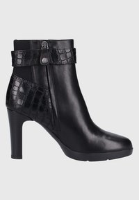 Geox - Bottines à talons hauts - black - 6