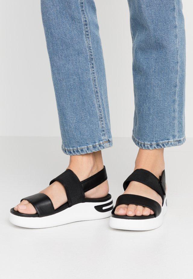 OTTAYA - Platform sandals - black