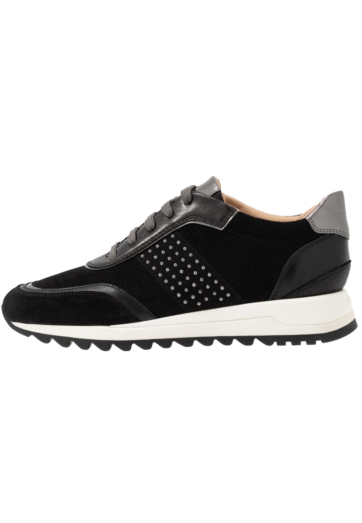 Geox TABELYA - Sneakersy niskie - black / gun
