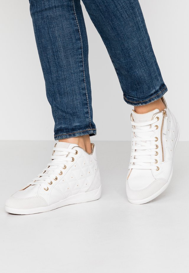 MYRIA - Zapatillas altas - white/off white