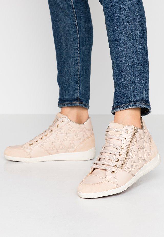 MYRIA - Höga sneakers - skin