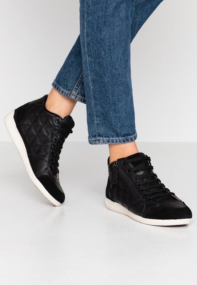 MYRIA - Höga sneakers - black