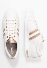 Geox - JAYSEN - Trainers - white/rose gold - 3