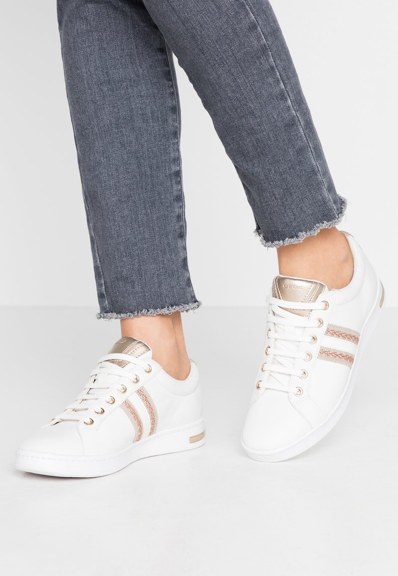 Geox - JAYSEN - Trainers - white/rose gold
