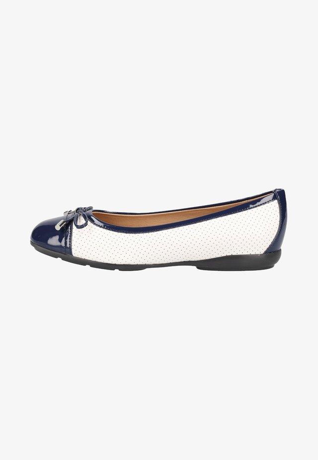 Ballerina's - white/blue