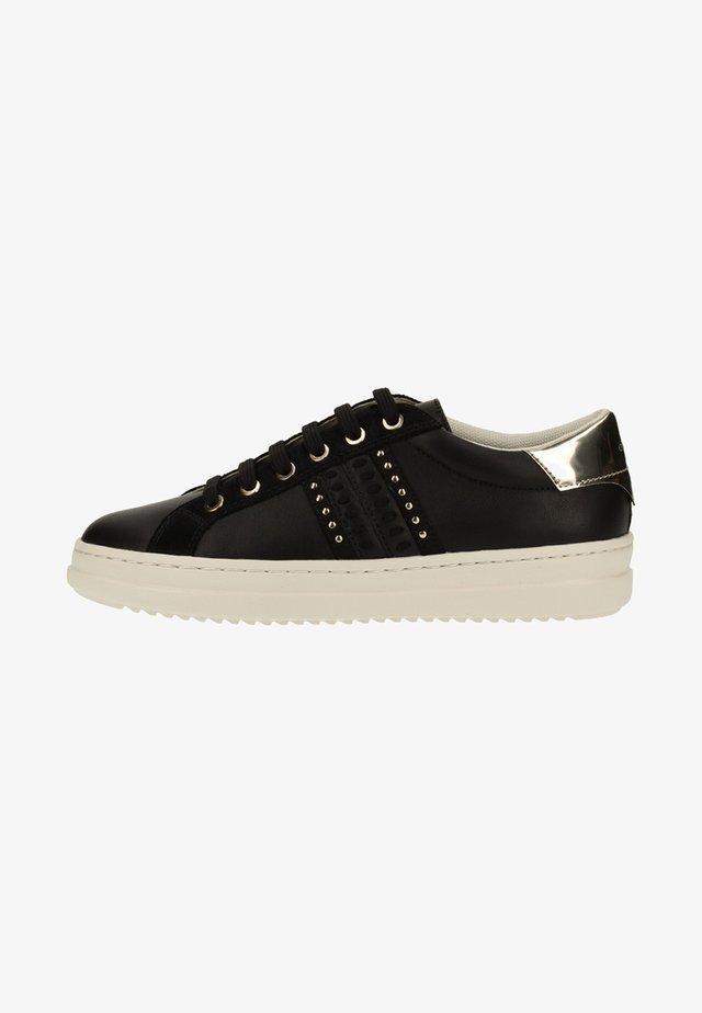 Sneakersy niskie - black/lt gold