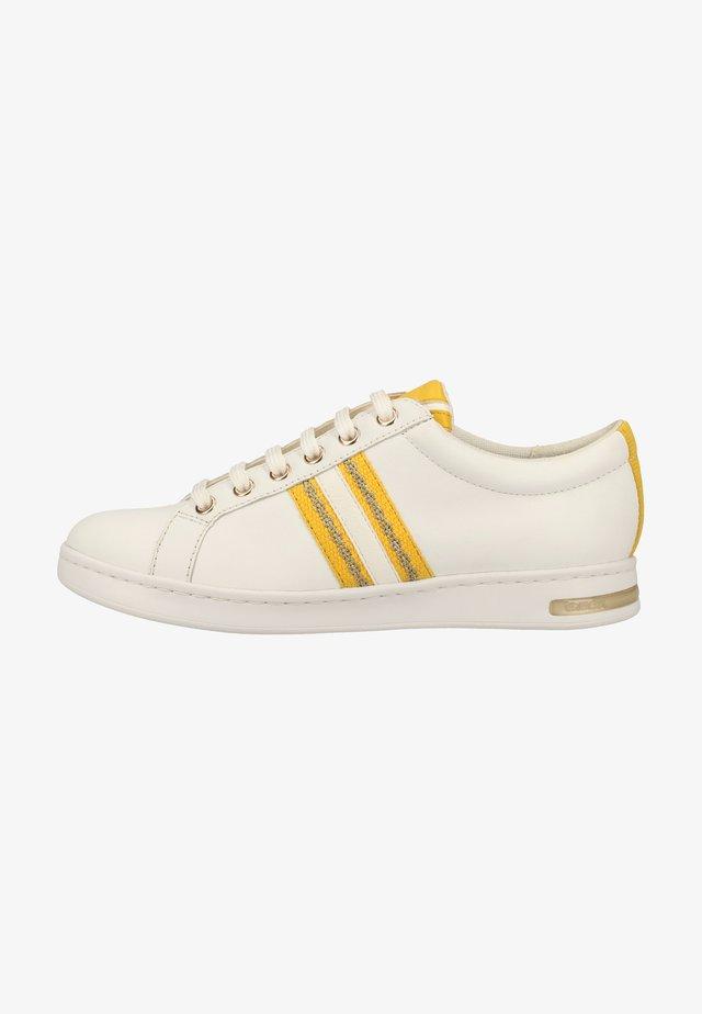 Baskets basses - white/yellow