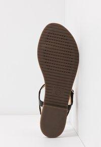 Geox - SOZY PLUS - Sandalias de dedo - black - 6