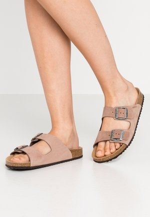 BRIONIA - Slippers - taupe