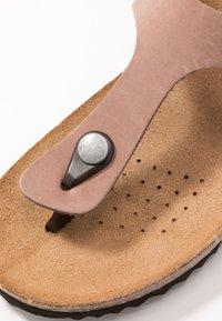Geox - STHELLAE - Sandalias de dedo - taupe - 2