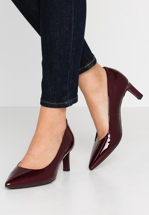 BIBBIANA - Classic heels - bordeaux