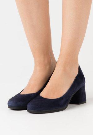 CALINDA MID - Classic heels - navy