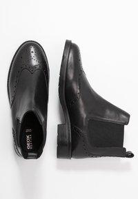Geox - BETTANIE - Kotníková obuv - black - 3