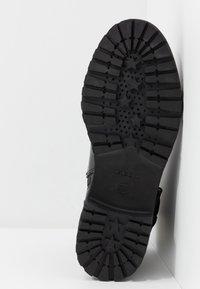 Geox - HOARA - Kovbojské/motorkářské boty - black - 4
