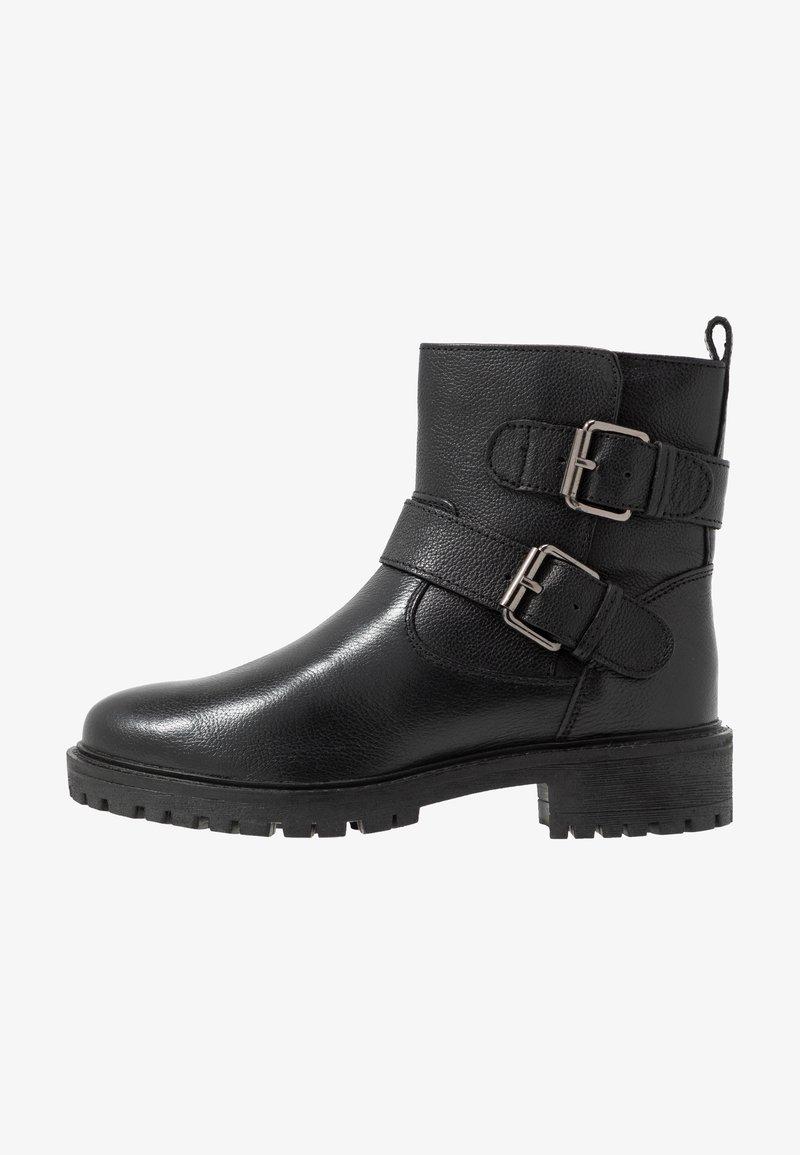 Geox - HOARA - Kovbojské/motorkářské boty - black
