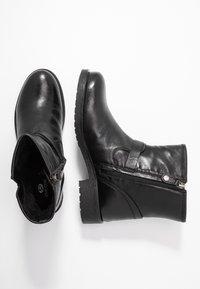 Geox - RAWELLE - Cowboystøvletter - black - 1