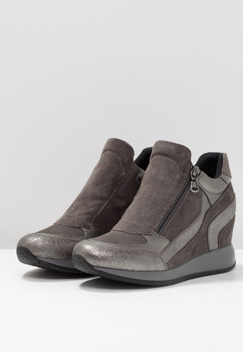 Basses NydameBaskets Lead Lead grey NydameBaskets Basses Geox Geox BoWrxdCe