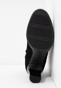 Geox - ANNYA - Kotníková obuv na vysokém podpatku - black - 6