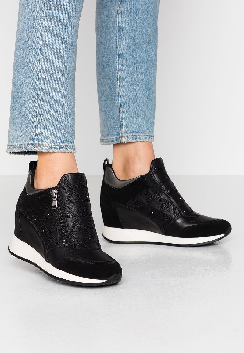 Geox - NYDAME - Zapatillas - black