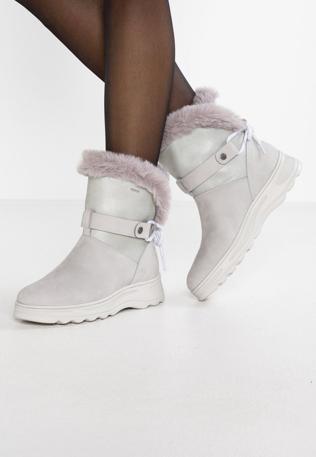 HOSMOS ABX - Botas para la nieve - light grey/silver