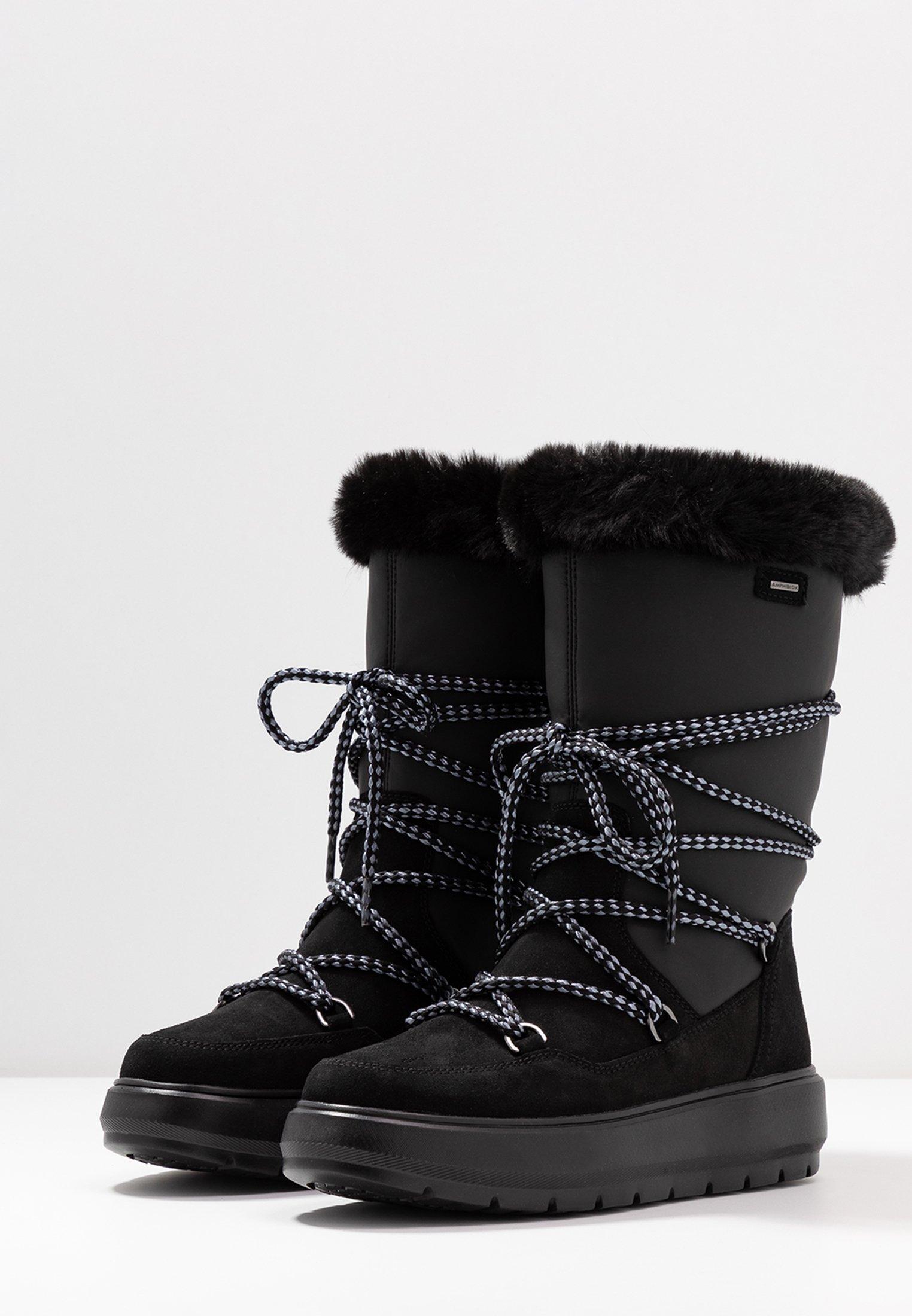 Geox KAULA ABX - Vinterstøvler - black
