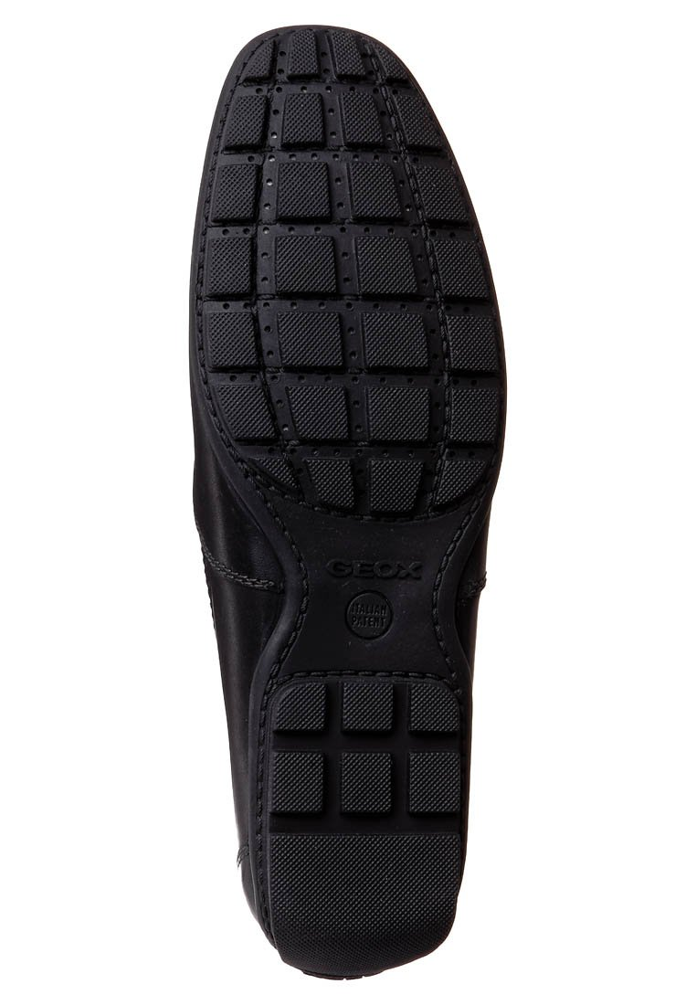 Geox UOMO MONET - Mockasiner - black