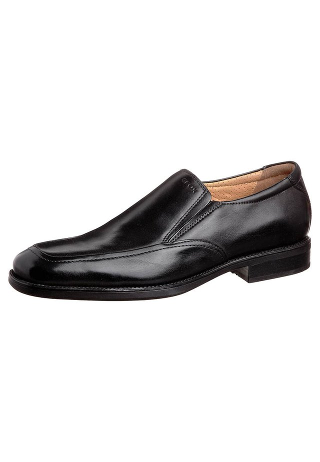 UOMO FEDERICO - Loaferit/pistokkaat - black